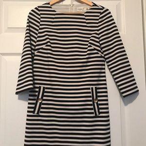 Eliza J striped sheath- size 6